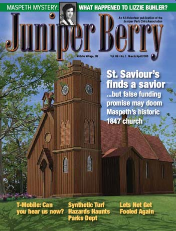 The Juniper Berry March 2008 Cover