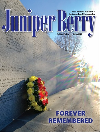 The Juniper Berry March 2020 Cover