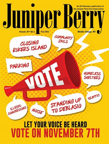 The Juniper Berry September 2017 Cover