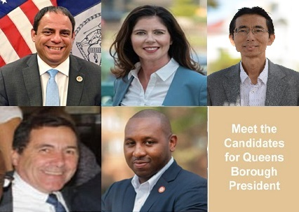 Primary for Queens Borough President June 23