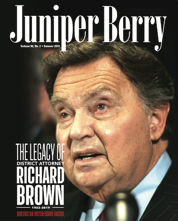 The Juniper Berry June 2019 Cover