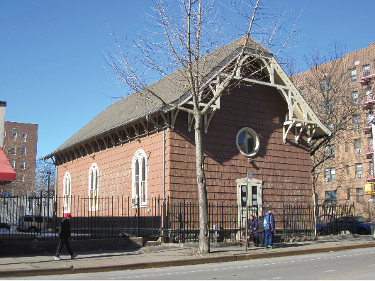 Landmarks Preservation Commission designates old St. James Church of Newtown