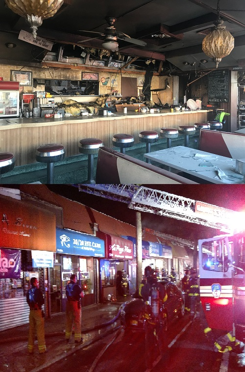 BERRY BITS: Two local restaurants suffer devastating fires