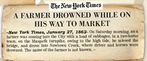 Amazing Stories: Farmer Drowned While on His Way to Market