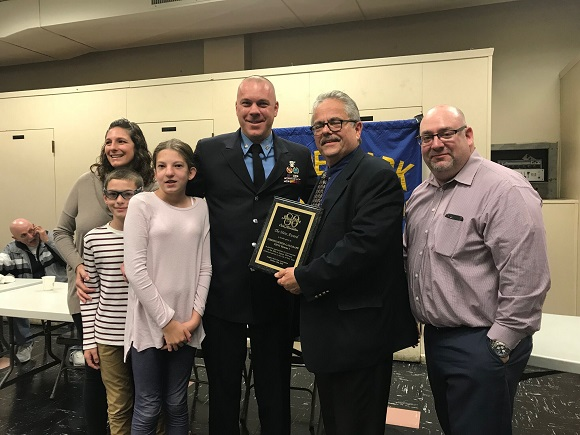 JPCA honors hometown hero at October meeting