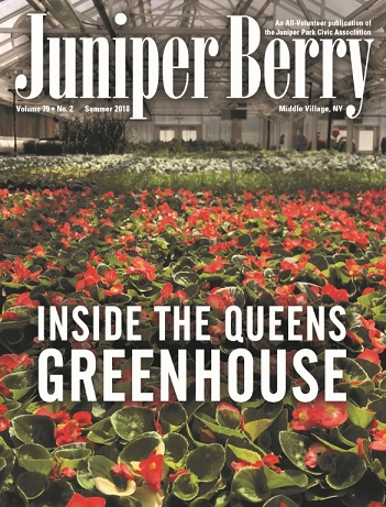 The Juniper Berry June 2018 Cover