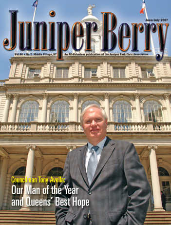 The Juniper Berry June 2007 Cover