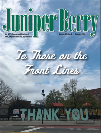 The Juniper Berry June 2020 Cover