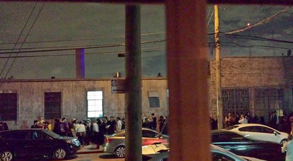 Bad behavior outside Knockdown Center event