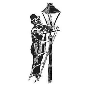 The Lamplighter of Olde Middle Village