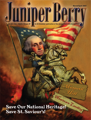 The Juniper Berry March 2007 Cover