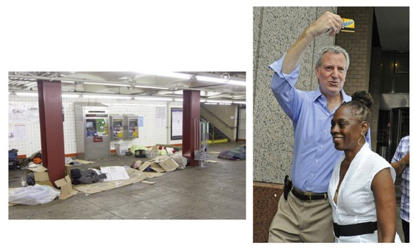 THINGS THAT ARE DUMB: De Blasio's clean sweep of the subways