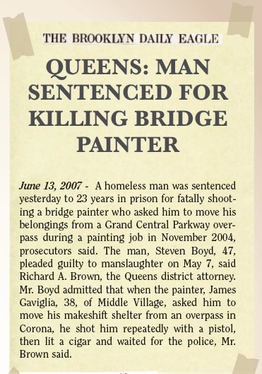 Amazing Stories: Queens man sentenced for killing bridge painter