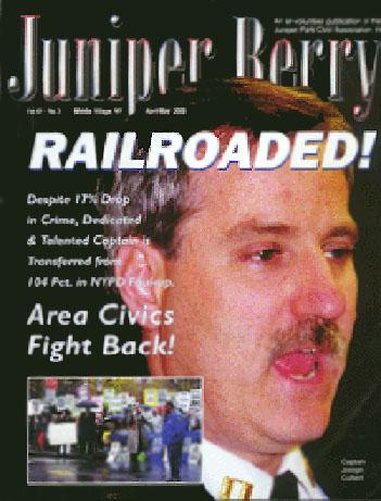 The Juniper Berry April 2000 Cover