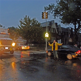 Juniper Civic: Lack of NYPD response left Middle Village to fend for itself in aftermath of storm.