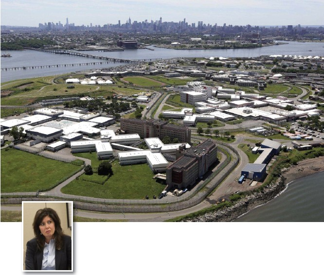 Crowley's strange stance on closing Rikers Island