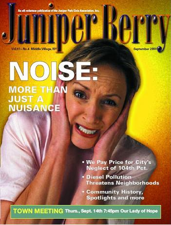 The Juniper Berry September 2000 Cover