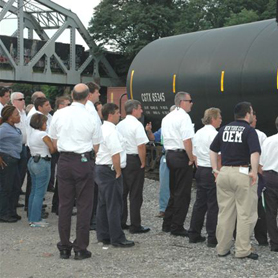 Transporting Propane by Railroad Tank Cars