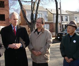 Councilman Avella & JPCA Hold Press Conference on Huang Horror House in Maspeth