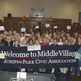 Community celebrates unification: Welcome to Middle Village!