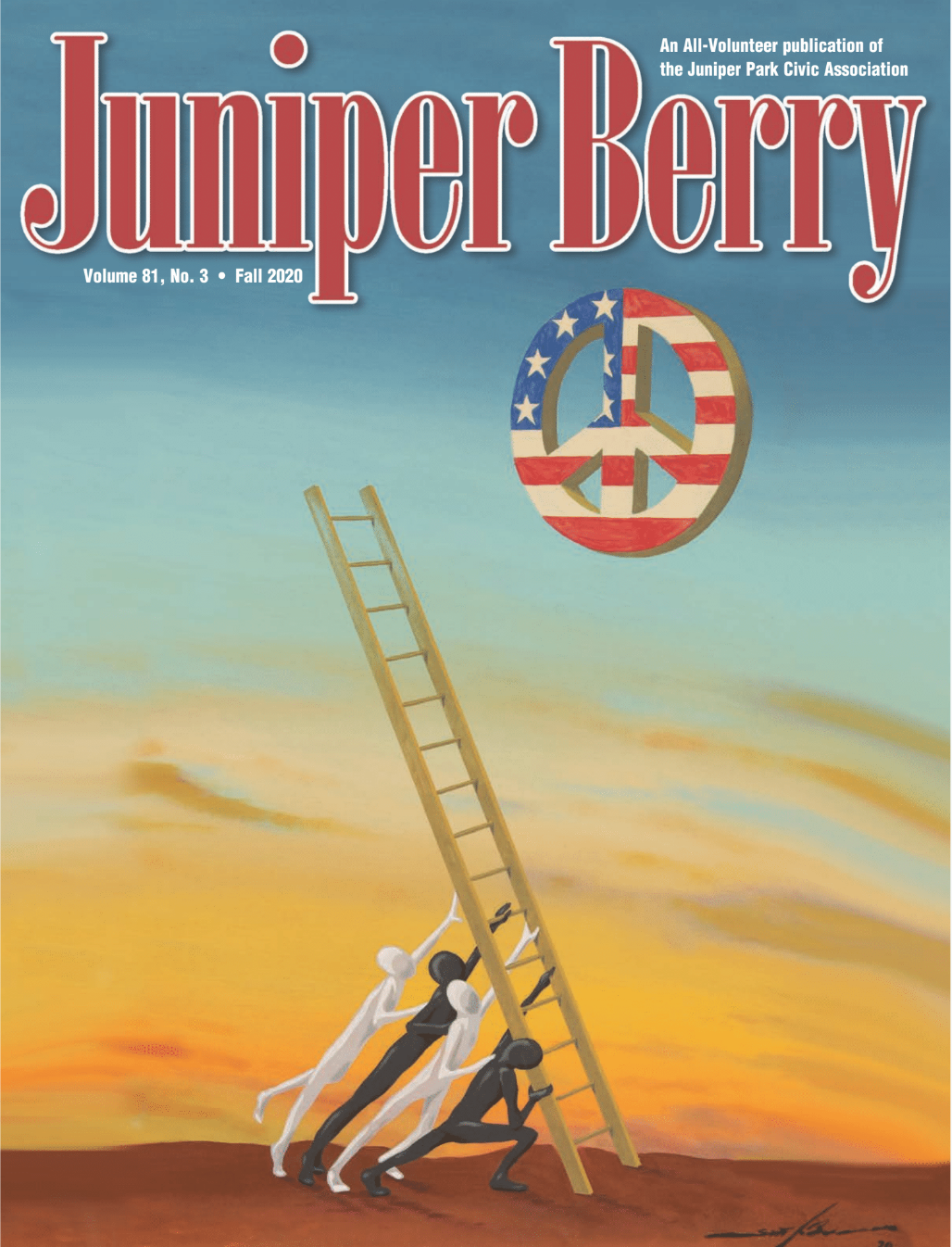 The Juniper Berry September 2020 Cover