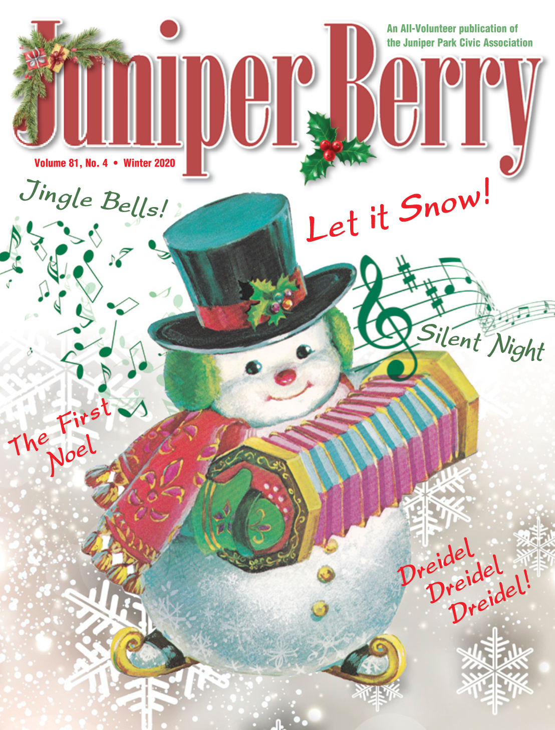 The Juniper Berry December 2020 Cover