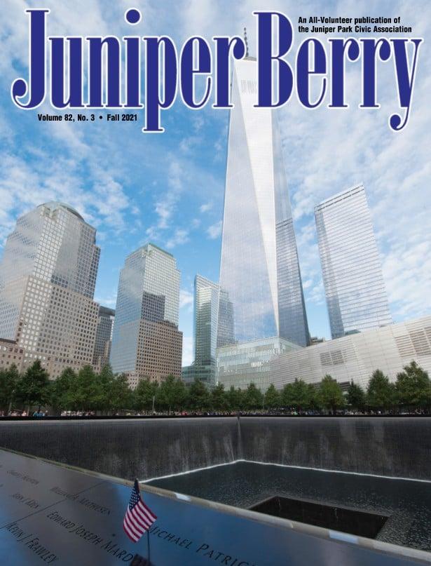 The Juniper Berry September 2021 Cover